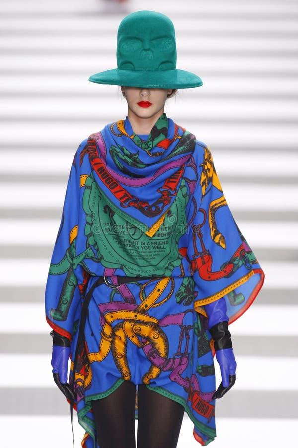 Jean-Charles de Castelbajac Paris Fashion Week stock images