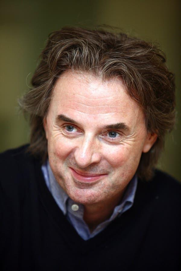 Jean-Christophe Grange Portrait fotografía de archivo libre de regalías