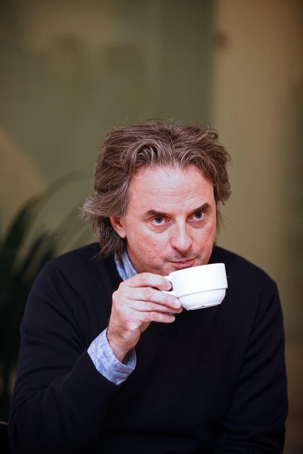 Jean-Christophe Grange Portrait imagenes de archivo