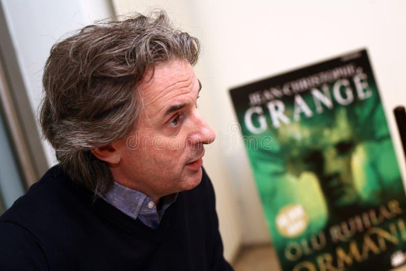 Jean-Christophe Grange Portrait foto de archivo libre de regalías