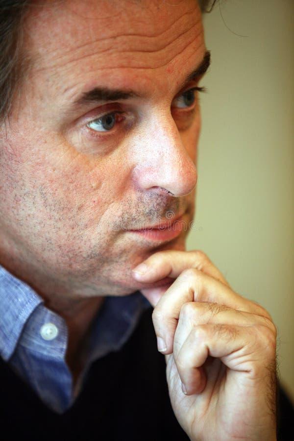 Jean-Christophe Grange Portrait fotos de archivo