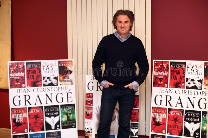 Jean-Christophe Grange Portrait imagen de archivo