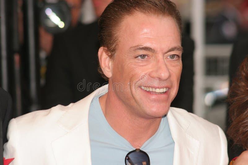 Jean Claude van Damme foto de archivo libre de regalías