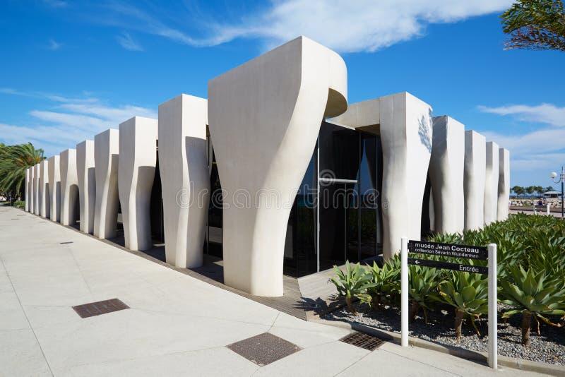 Jean Cocteau Museum, zeitgenössische Architektur, Menton stockfoto