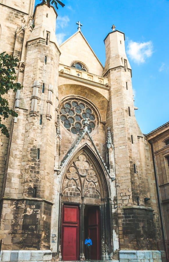 Jean De Malte Kościół w Provence obrazy royalty free
