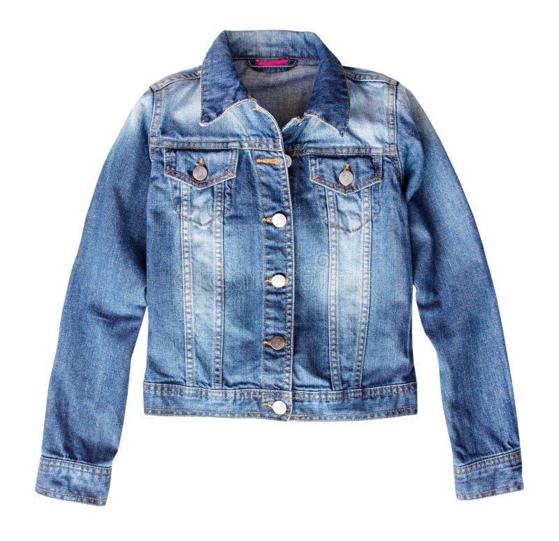 Free Jean Denim Female Jacket Isolated. Royalty Free Stock Photos - 91741998