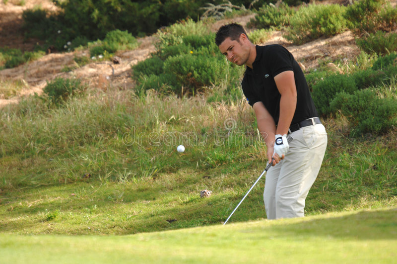 Jean För Gonnet För Baptistefra-golf Redaktionell Bild