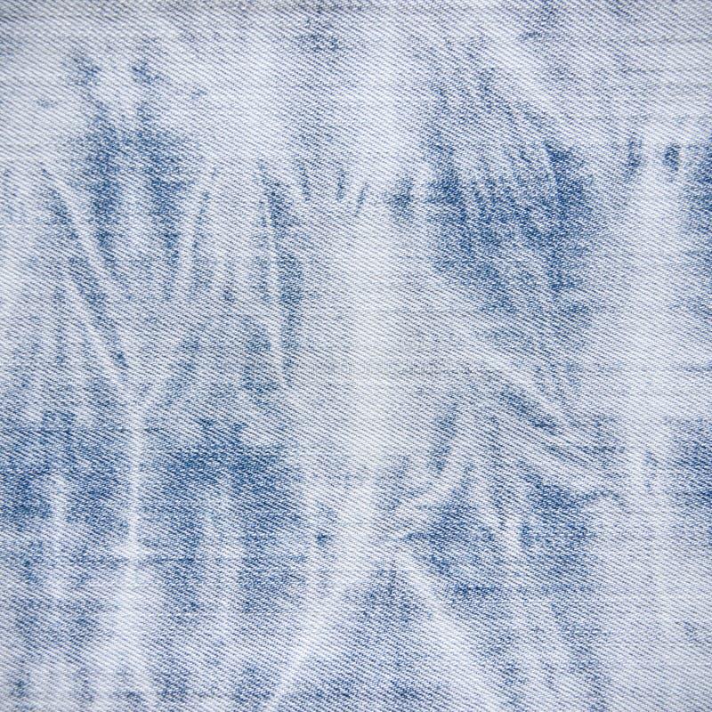 Jean Fabric Texture azul blanqueado fotos de archivo