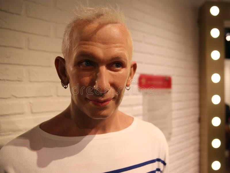 Jean Paul Gaultier wosku statua obraz royalty free