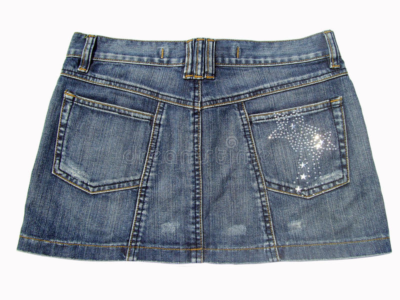 Download Jean Skirt stock image. Image of female, comfortably - 10664385