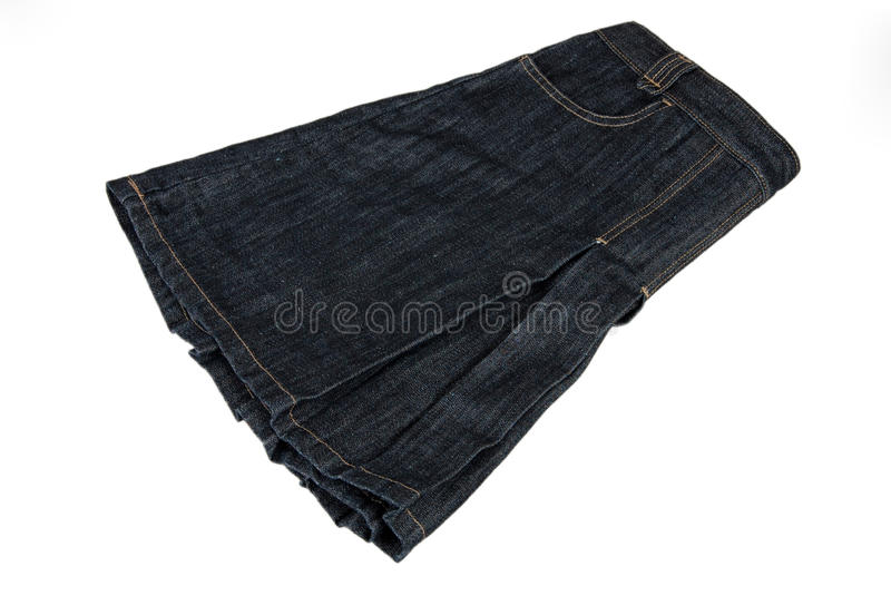 Jean,skirt royalty free stock photography