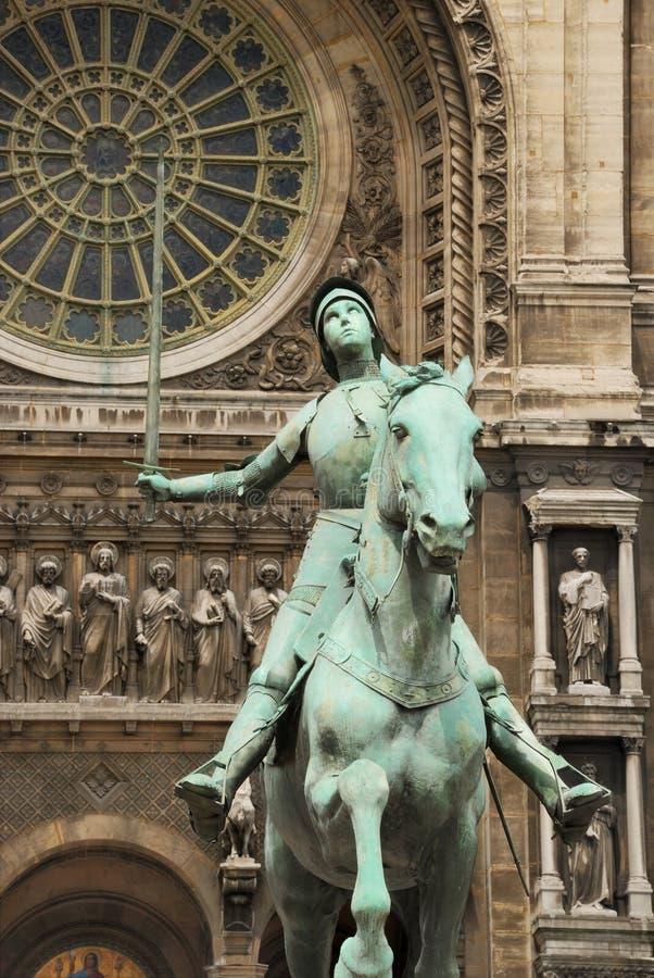 Jeanne D'Arc。 免版税库存照片