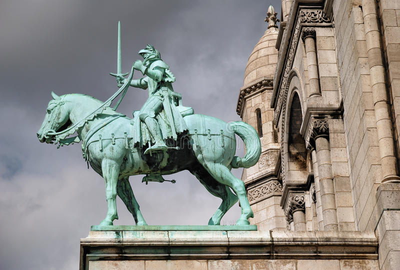 Jeanne d'Arc. royalty free stock images