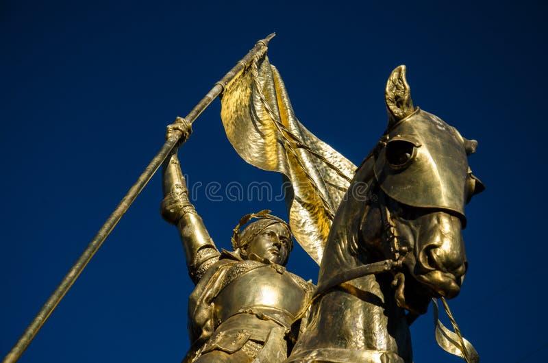 Jeanne d'Arc - Jeanne D'Arc - Nouvelle-Orléans photographie stock