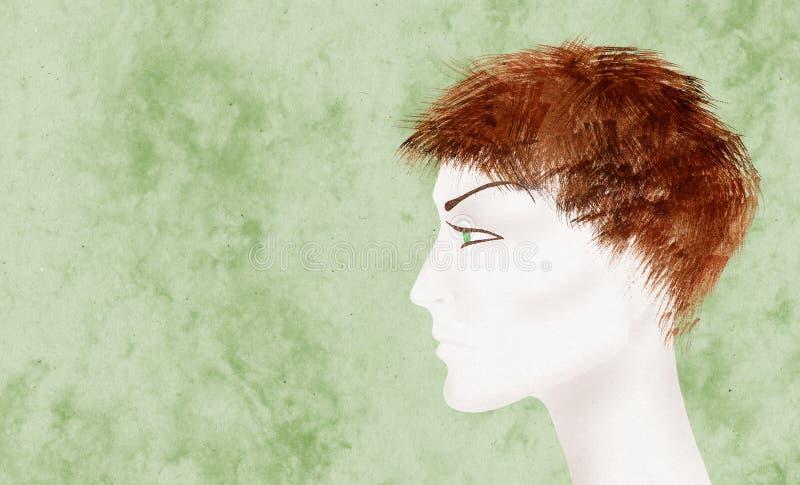 jeanne för båge D royaltyfri illustrationer