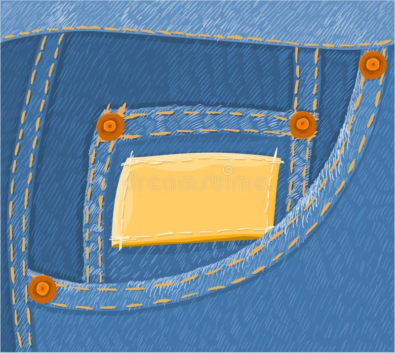 Jeans 02 vector illustratie