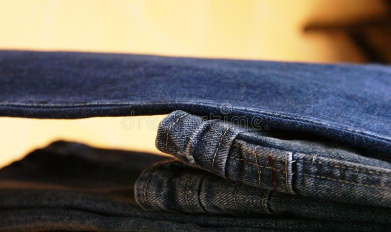 Jeans fotografia stock