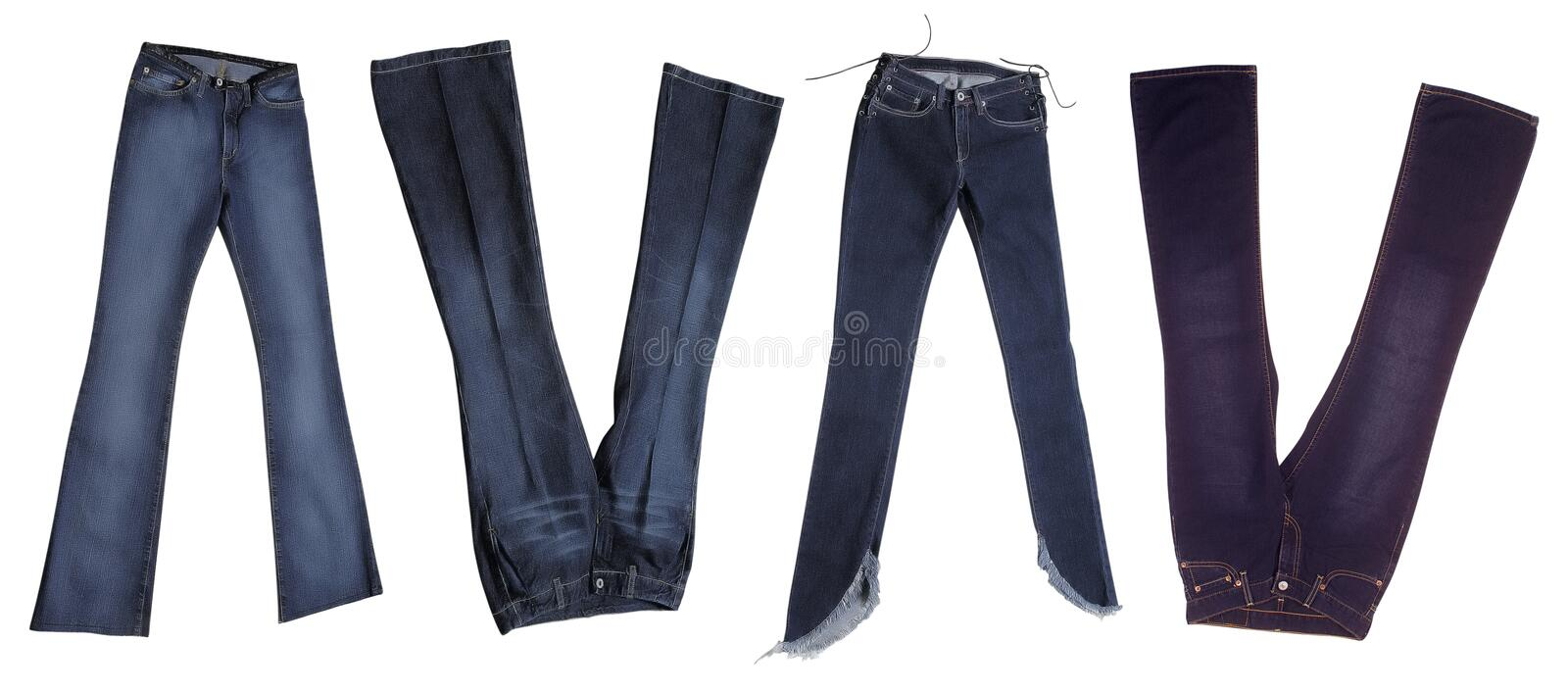 Download Jeans stock image. Image of retail, cotton, outfit, nobody - 15242337