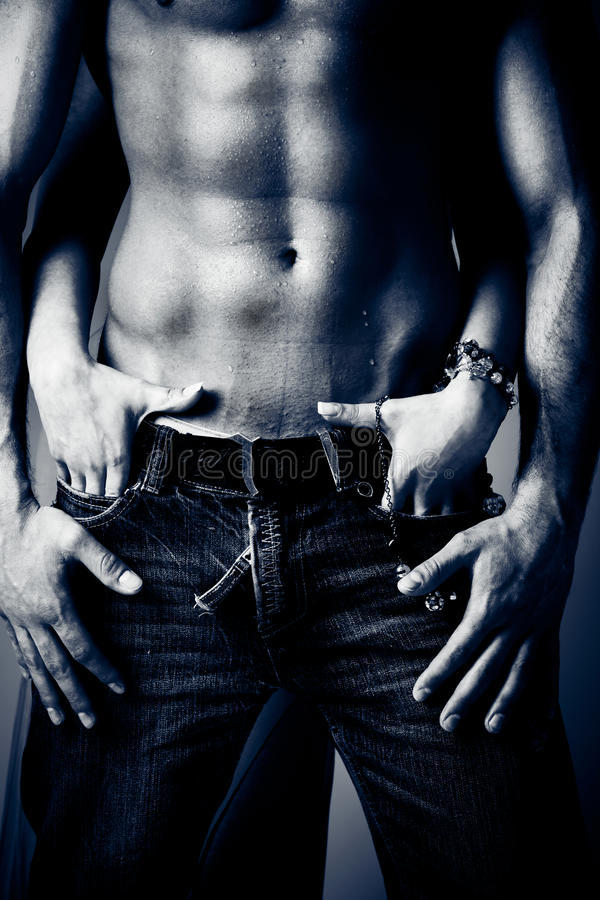 Download Jeans stock photo. Image of jeans, muscle, temptation - 18751910