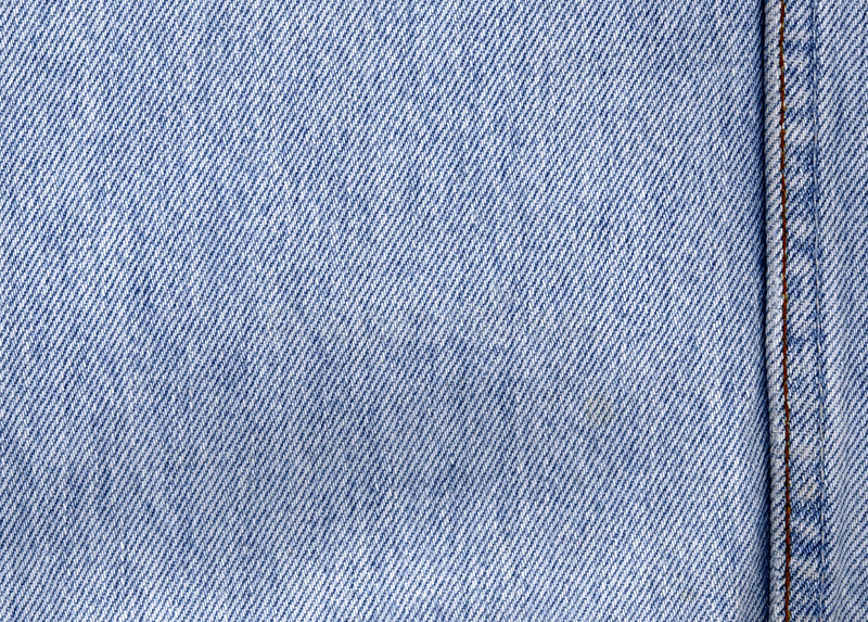 Jeans. Blue jeans denim cloth background stock image