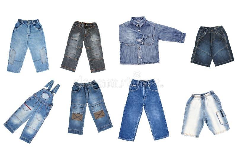 jeans royaltyfri foto