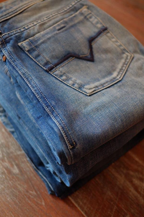Jeans royalty-vrije stock afbeelding