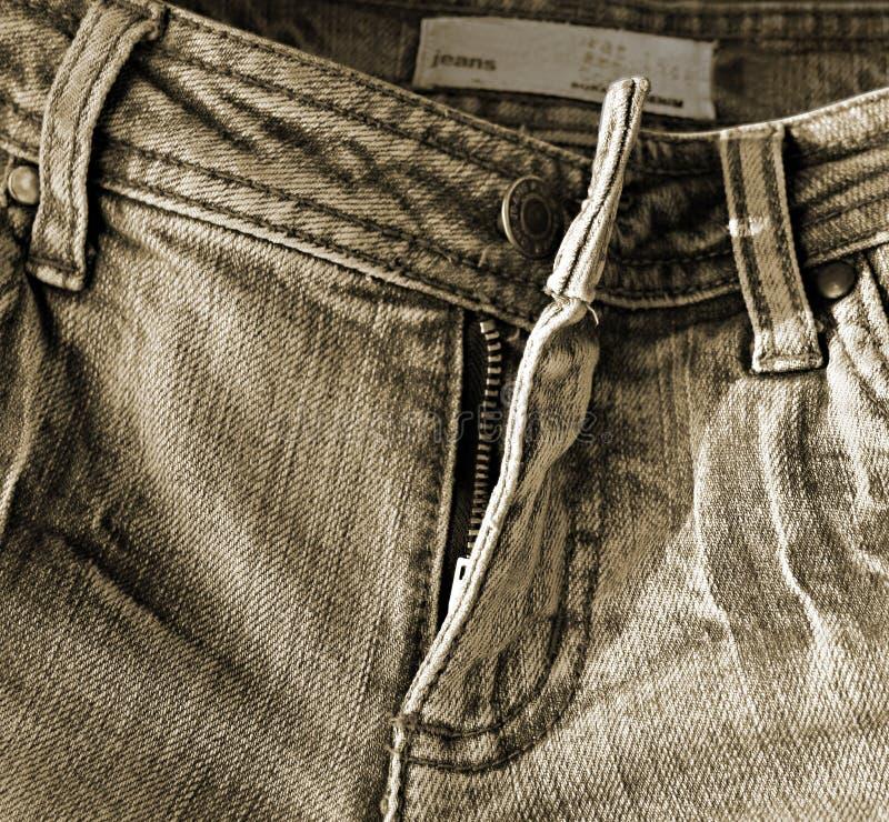 Jeans antiquati immagini stock libere da diritti