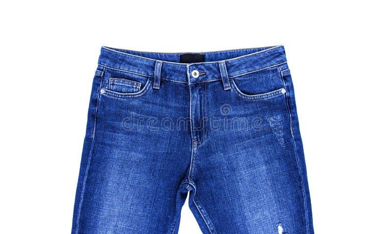 jeans azuis isolados fotos de stock royalty free