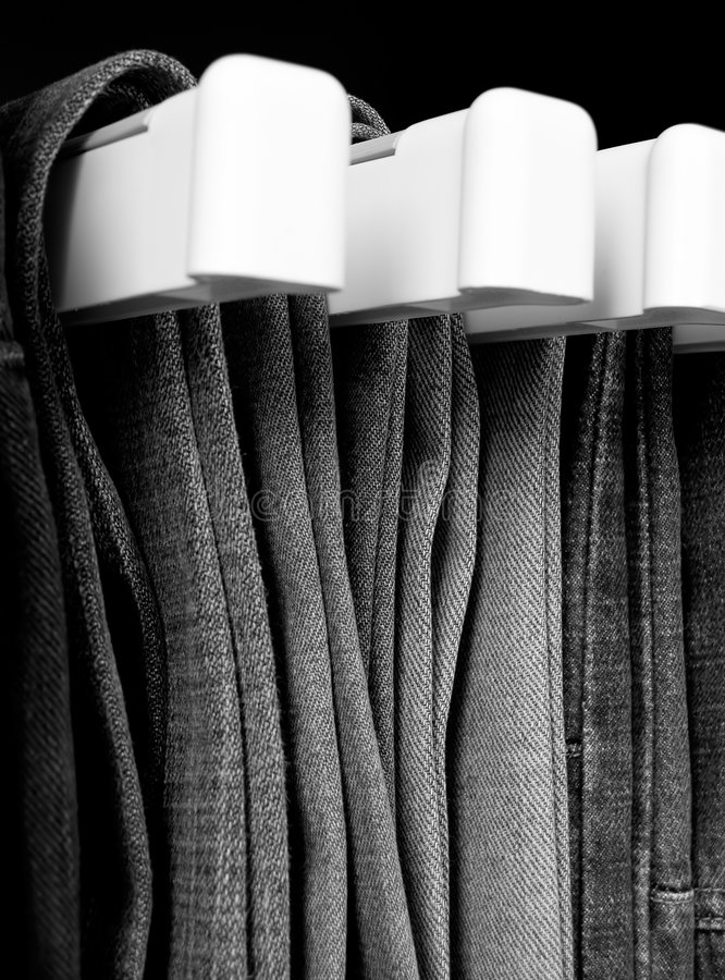 Jeans B&W images stock