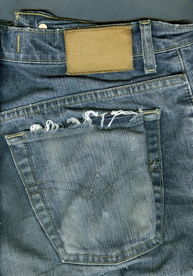 Jeans Background. Stock Photography