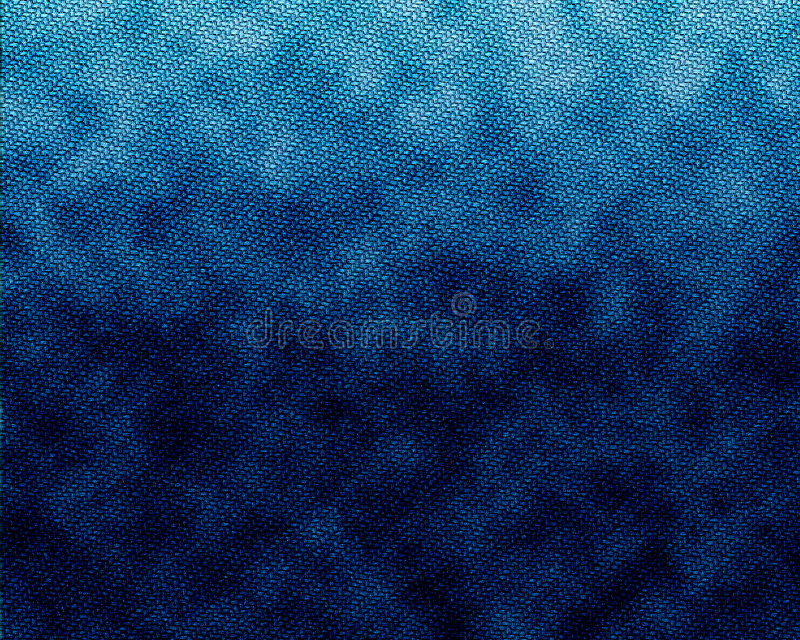 Jeans blue fabric texture royalty free illustration