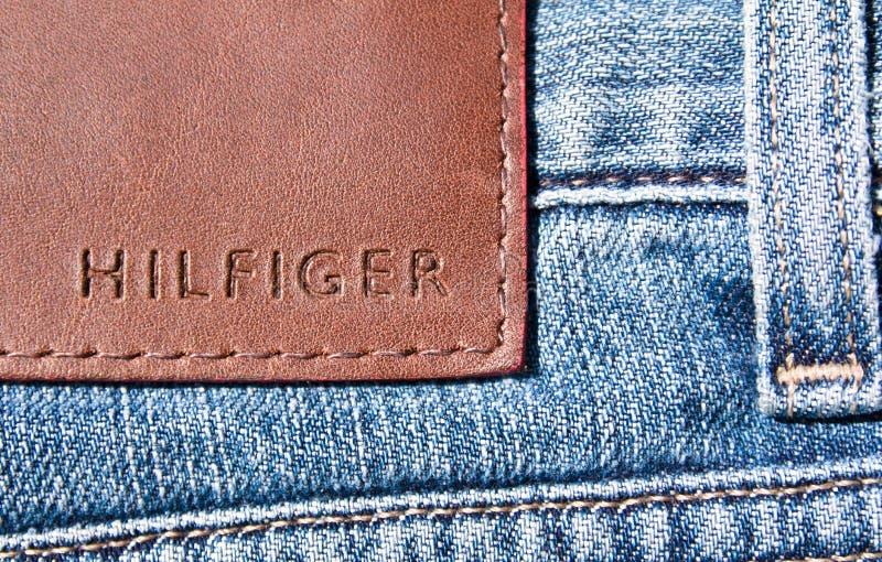 Jeans de Hilfiger photo stock