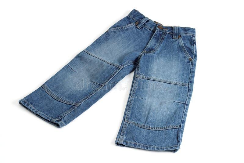 Jeans dei bambini fotografia stock libera da diritti