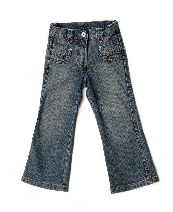 Jeans dei bambini fotografia stock