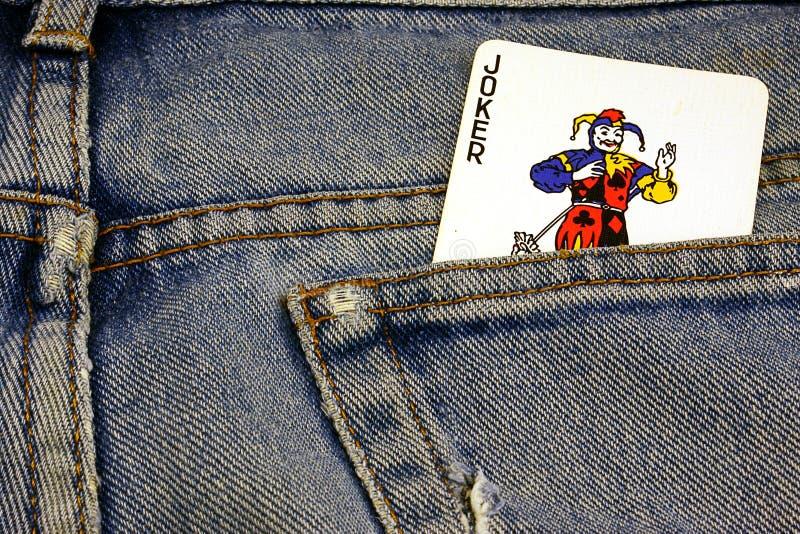 Jeans del burlone immagini stock