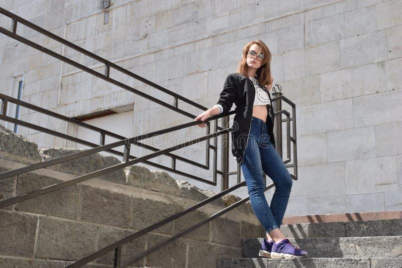 Jeans, Denim, Girl, Fashion royalty free stock photo