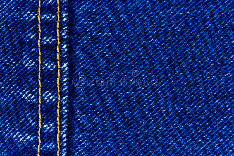 Jeans denim and seam royalty free stock images