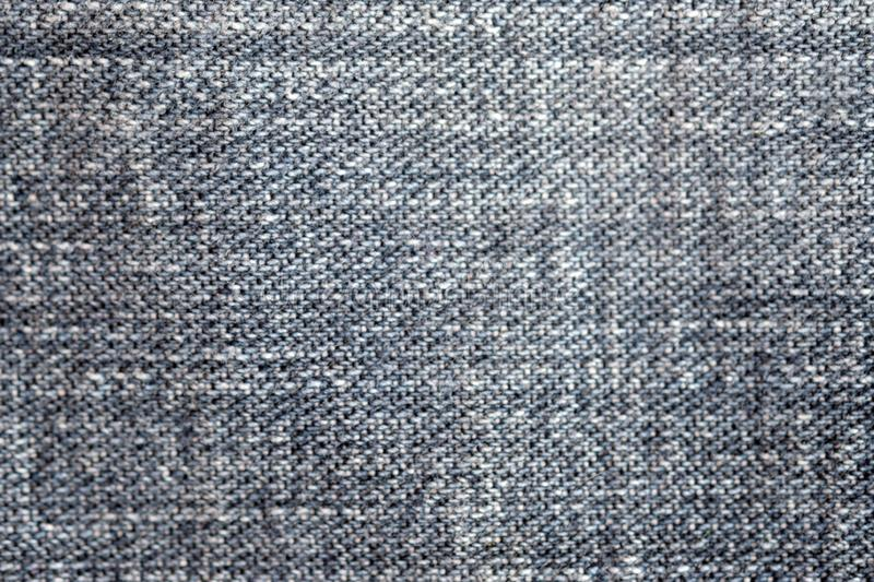Jeans Denim Texture. Light Gray Blue Color, top view. royalty free stock photos
