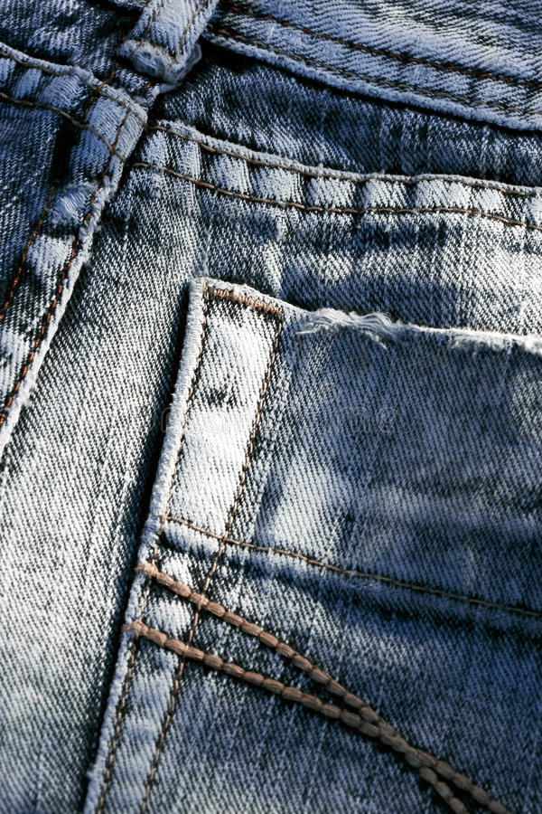 Download Jeans Detail Stock Photo - Image: 18384590