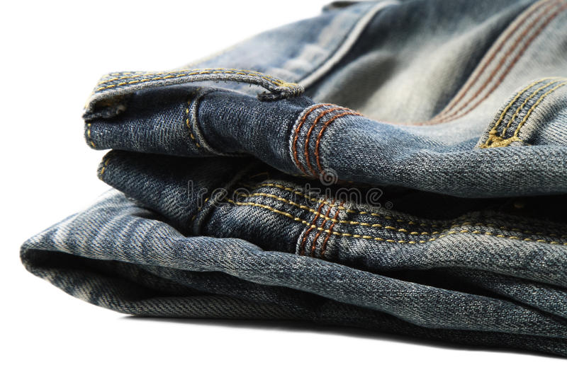 Jeans. Is details of the jeans royalty free stock photography