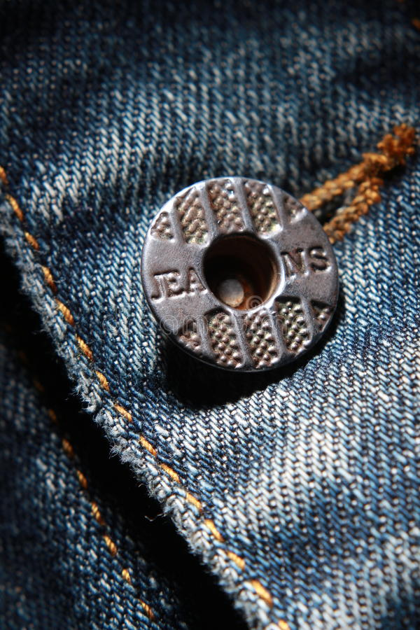 Jeans en de knoop stock afbeeldingen