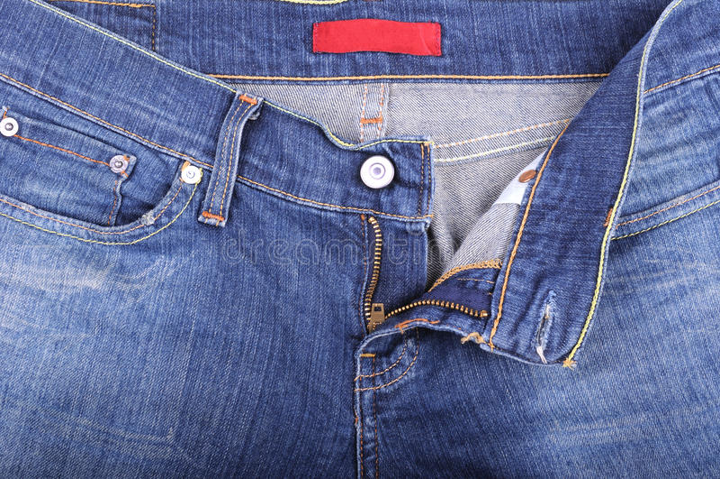 Jeans en vlieg stock afbeelding