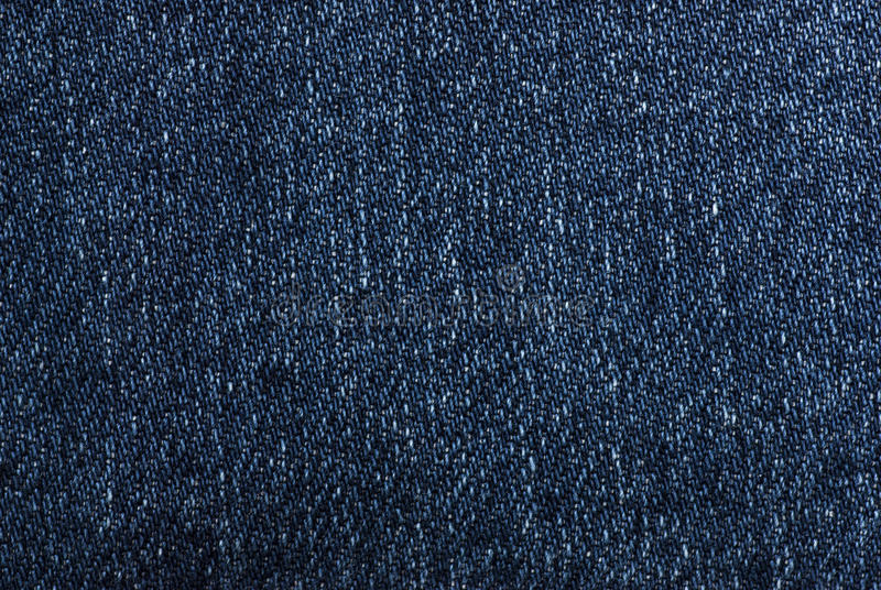 Jeans Fabric. A fragment of colored jeans fabric royalty free stock photo