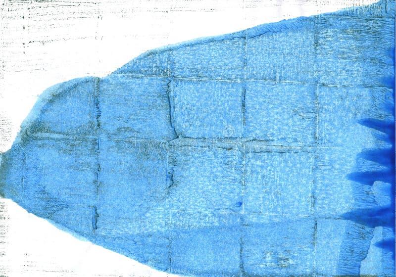 Jeans gör sammandrag vattenfärgbakgrund royaltyfri illustrationer