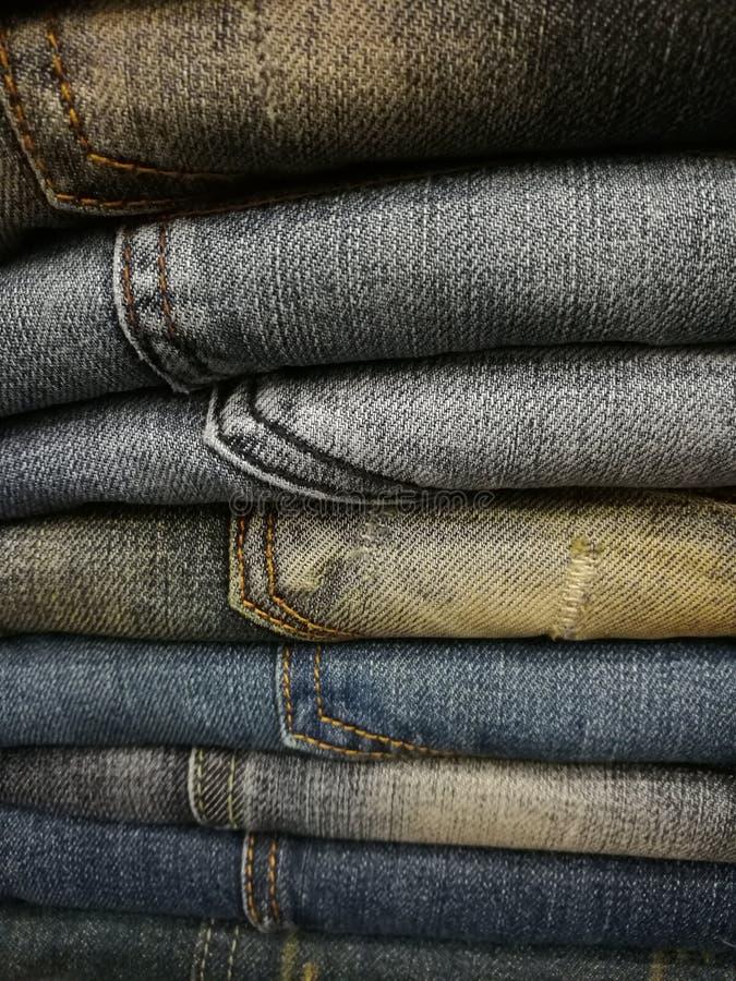 Jeans inszeniert lizenzfreie stockbilder
