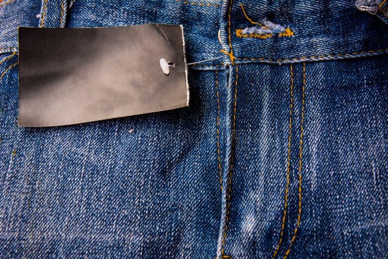 Jeans jeanstextur royaltyfri fotografi