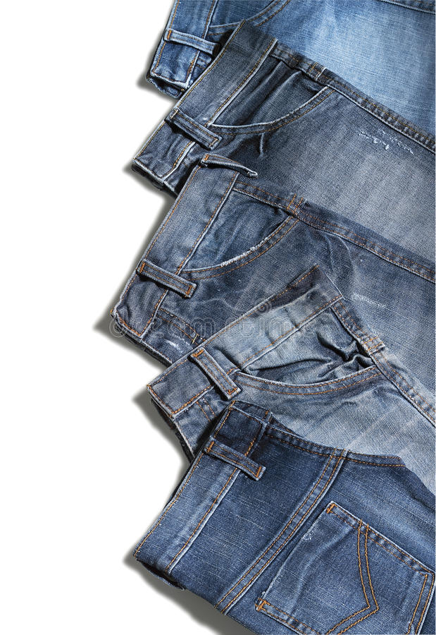 Jeans pants stock image