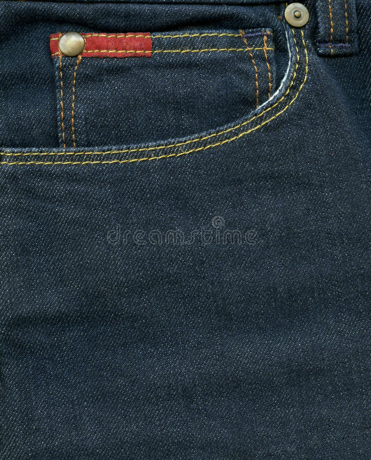 Download Jeans pocket stock photo. Image of copy, clothing, backdrop - 24393164