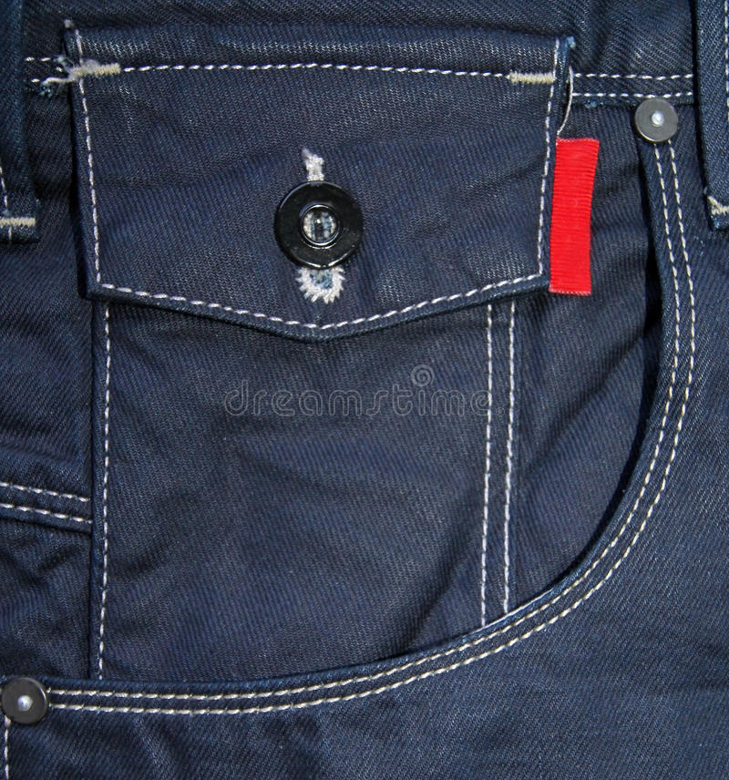 Download Jeans pocket stock image. Image of button, backdrop, dressing - 28310317