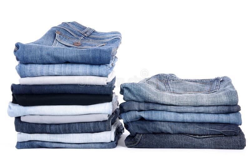 Jeans pour le mâle ou la femelle ? images stock